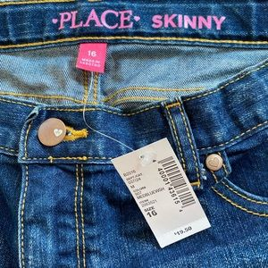 The Children's Place Size 16 denim skinny jeans